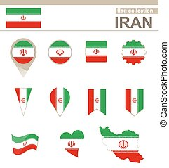 Iran Flag Collection