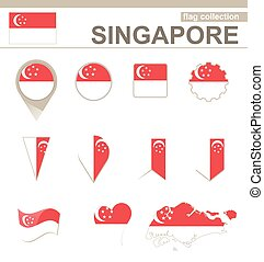 Singapore Flag Collection