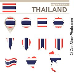 Thailand Flag Collection