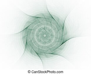 An abstract computer generated fractal design.