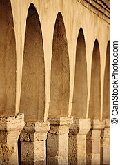 Colonnade in Assisi