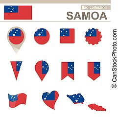 Samoa Flag Collection