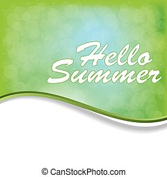 Abstract summer background.vector.