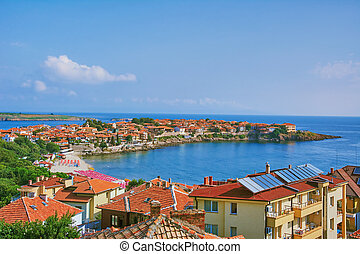 View of Nessebar - View on an Old City of Nessebar, Bulgaria