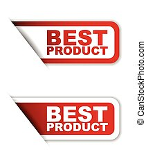 red set vector paper stickers best product