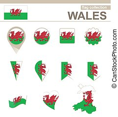 Wales Flag Collection