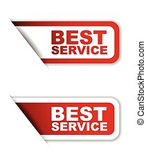 red set vector paper stickers best service - This is red set...