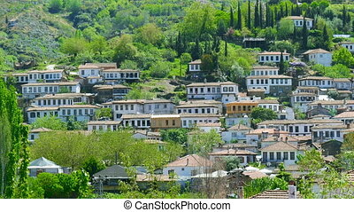 """Historical White Houses, Sirince Village, izmir, Turkey"""