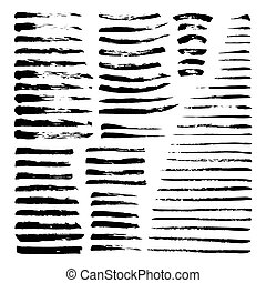 Mega set of ink brushes