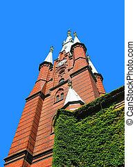 Stockholm, sverige, kyrka