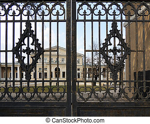 Gate of Yusupov Palace on Fontanka - Gate of Yusupov Palace...