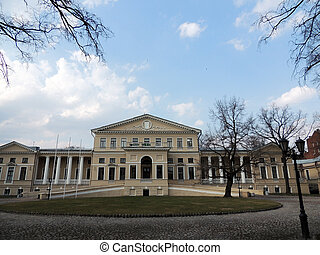The Yusupov Palace on Fontanka River, St. Petersburg...