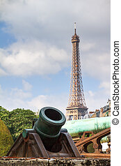 Eiffel Howitzer - Ottoman Howitzer at Les Invalides in...