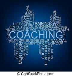 Coaching tag cloud