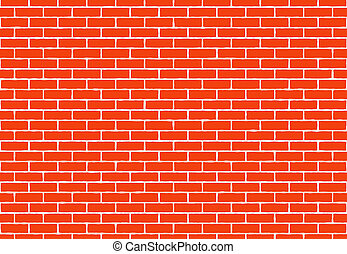 hi-res red small brick wall pattern backgrounds