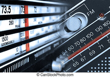 Radio tuner frequencies - Old radios tuners frequencies with...