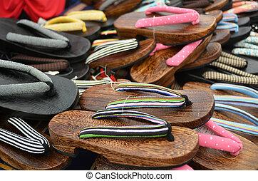 Japanese footwear - Geta - Japanese footwear ,Geta, for sale...