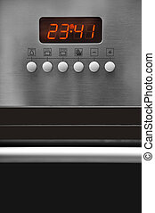 Oven control panel - A modern ovens and electronic...
