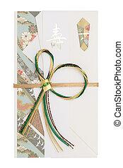Japanese envelope for money gift - Traditional Japanese...