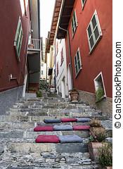 Varenna ( Lake Como ) street - Old Varenna street