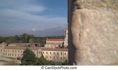 Lerins Abbey in Cannes, France