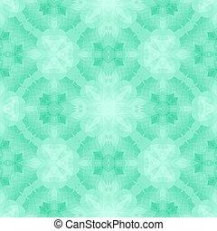 mönster,  seamless, grön, bakgrund, eller, mosaik