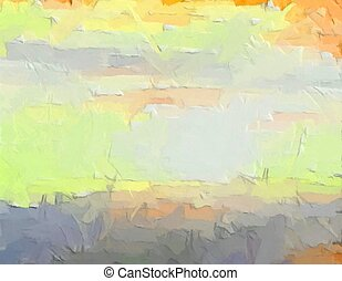 Bright colored background - digital painting - Bright...