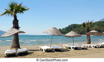 quot;Akyaka, Turkey, beach, sunbed, Daily life Summer Travel...