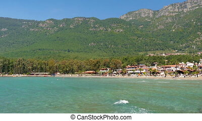 Akyaka, Turkey, beach, sunbed, Daily life Summer Travel Destination