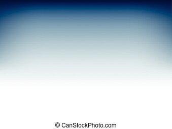 White Snorkel Blue Gradient Background