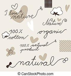 Cotton - design elements