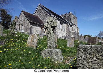Church England medieval parish bramber