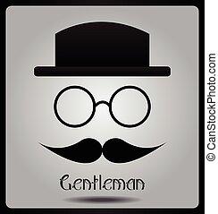 Gentleman - retro style
