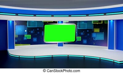 Education TV Studio Set- 01 - Education TV Studio Set 01 -...