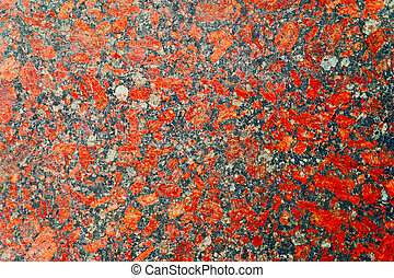 Red and gray granite background with beautiful nuances High...