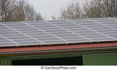 Solar panel - Photovoltaic solar panels producing clean...