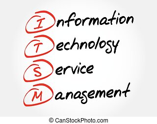Information Technology Service Management - ITSM -...