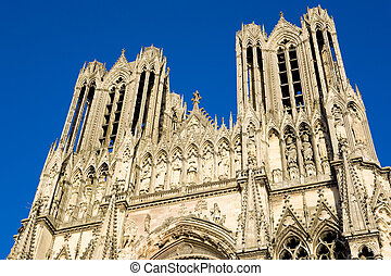 Reims - Cathedral Notre Dame, Reims, Champagne, France