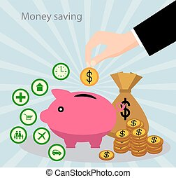 Savings and the accumulation of money - The concept of...