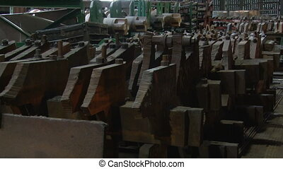 Warehouse cutters at a metallurgical plant 3 - Metallurgical...