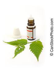 homeopathy globule - homeopathic globule pills and leaf...