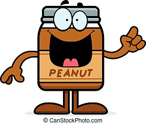 Cartoon Peanut Butter Idea
