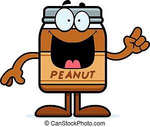 Cartoon Peanut Butter Idea