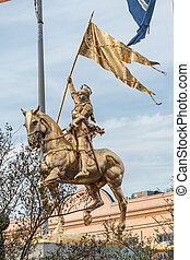 Joan of Arc Statue Monument in New Orleans, Louisiana - Joan...