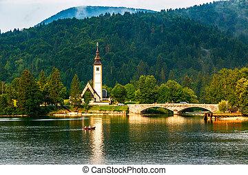 Church of St John the Baptist, Bohinj Lake
