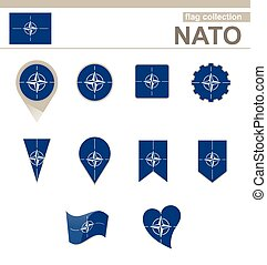 NATO Flag Collection, 12 versions