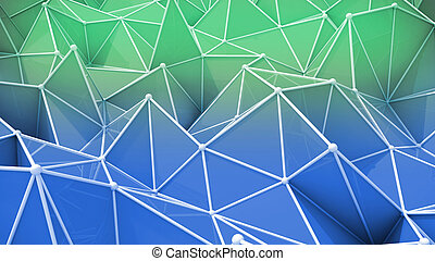 Colorful abstract texture with different geometric shapes