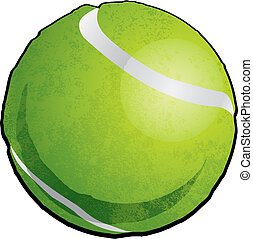 Vector Tennis Ball