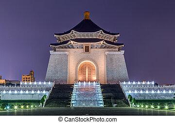 National Chiang Kai-shek Memorial Hall in Taipei,  Taiwan