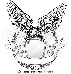 Spread Wing Eagle Insignia